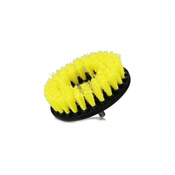 DRILL CARPET BRUSH MEDIUM JAUNE