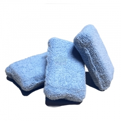 TERRY DETAILING SPONGE APPLICATOR BLUE 3X6X11CM