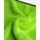 GREEN MICROFIBER GLASS SCRUBBING TOWEL