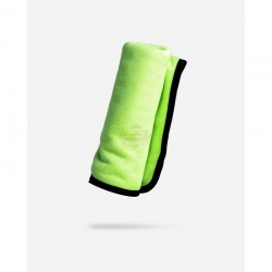 GREEN MICROFIBER GLASS SCRUBBING TOWEL