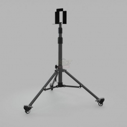 SINGLE HEAD TRIPOD WITH WHEELS FOR HEXAGON SITE LIGHT