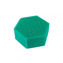 HEX HAND POLISHING PAD GREEN COMPOUND