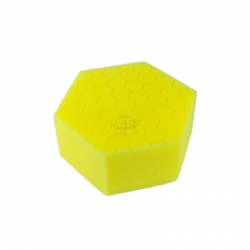 HEX HAND POLISHING PAD YELLOW MEDIUM