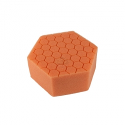 HEX HAND POLISHING PAD ORANGE FINISHING