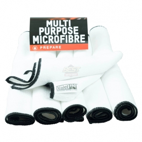 MULTIPURPOSE MICROFIBRE CLOTH PACK DE 6 35x35CM