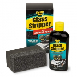 INVISIBLE GLASS STRIPPER & SPONGE