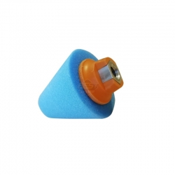 CONE M14 BUFFING BLUE 80X35MM