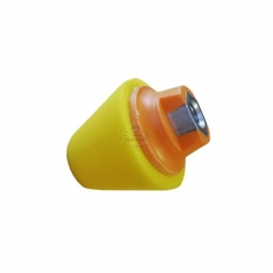 CONE M14 BUFFING YELLOW 80X35MM